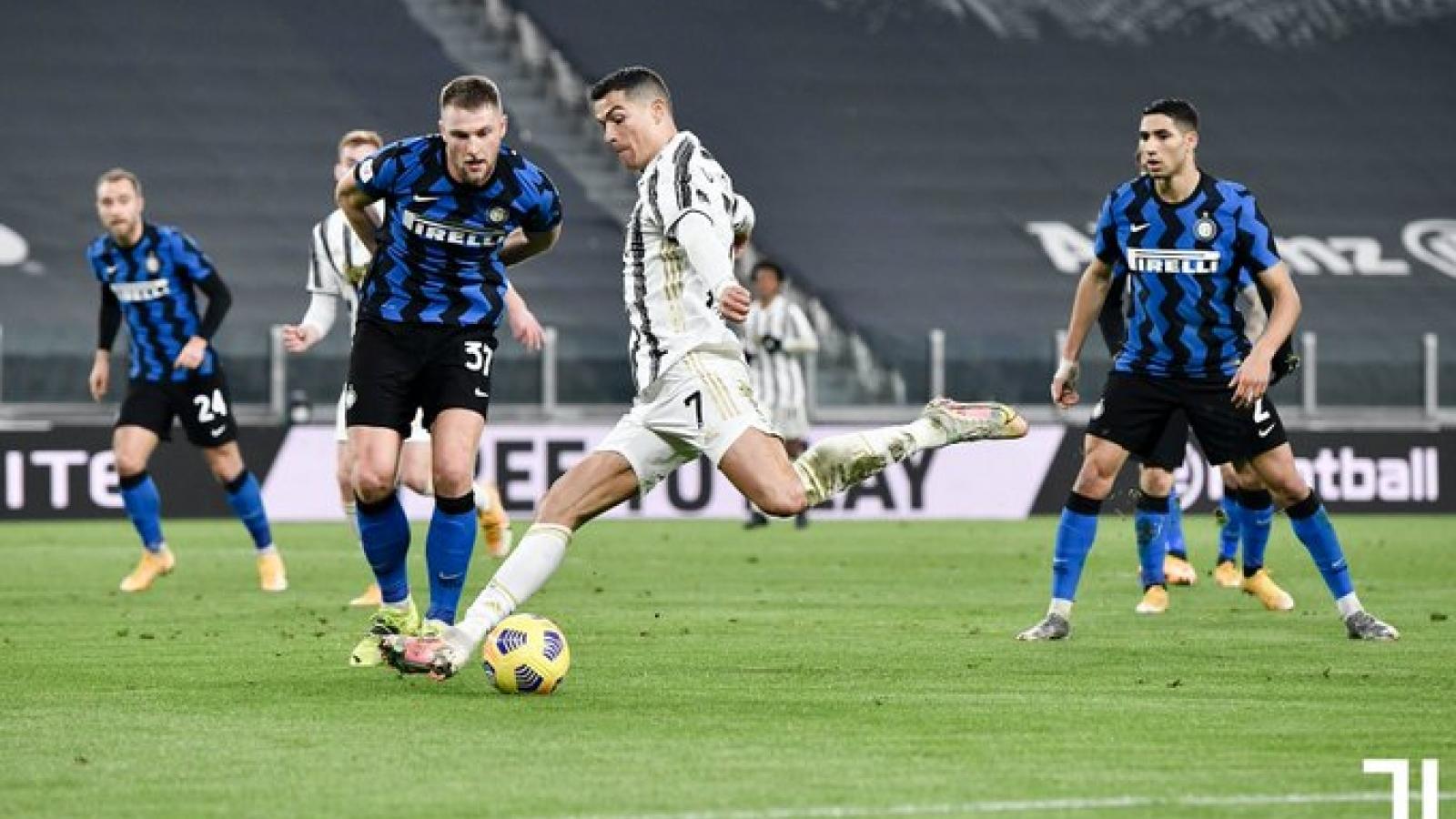 Vượt qua Inter Milan, Juventus vào chung kết Coppa Italia