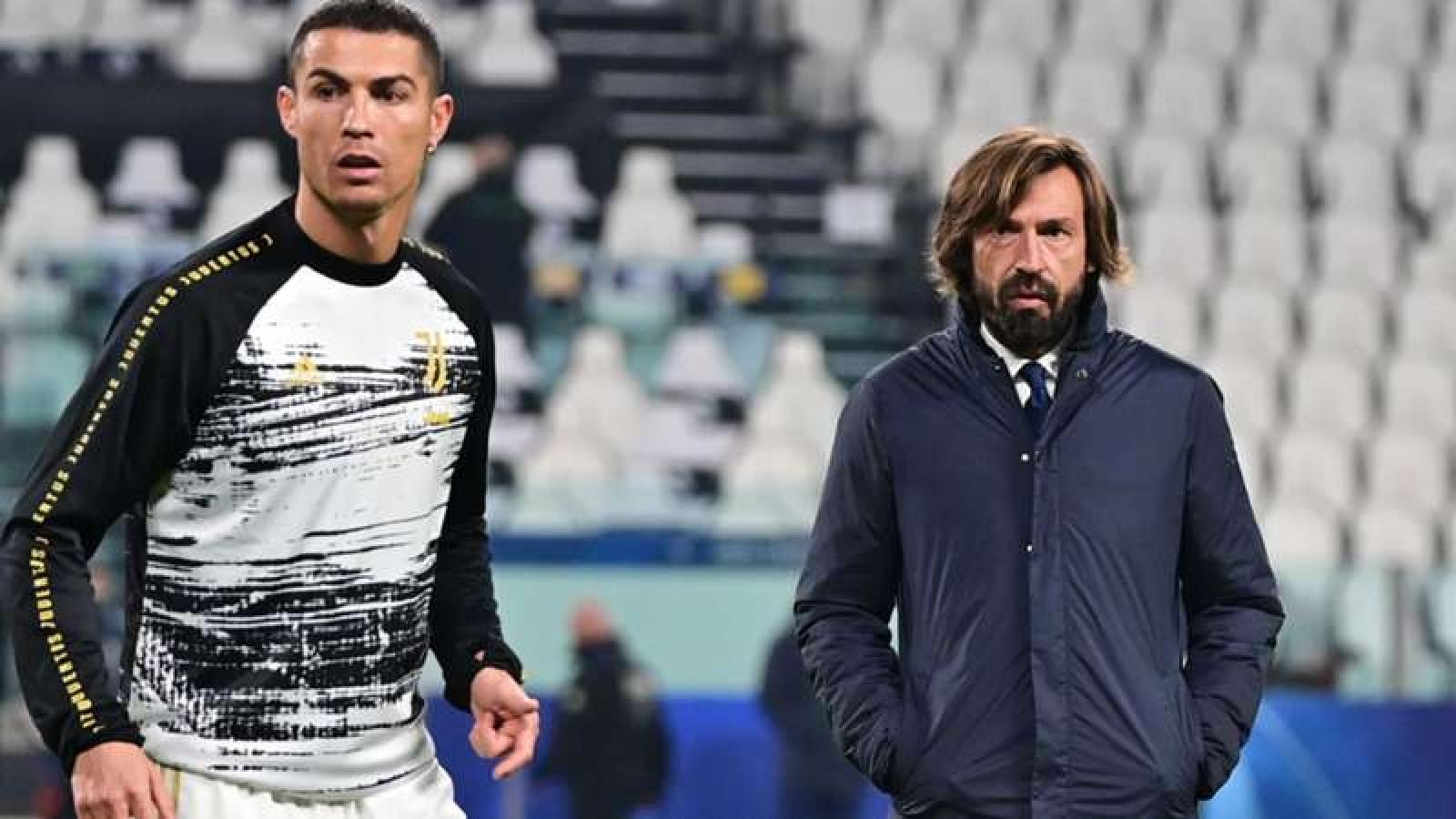 """HLV Pirlo: """"Nếu tôi muốn thay Ronaldo, không ai có thể ngăn cản"""""""