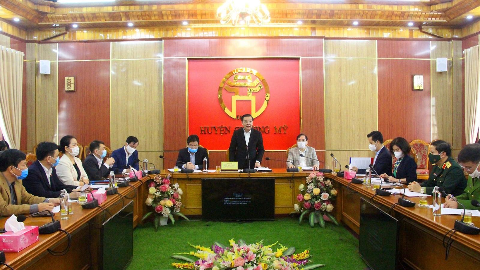 Chủ tịch Hà Nội Chu Ngọc Anh: Hà Nội đi đúng hướng và không mất dấu F0