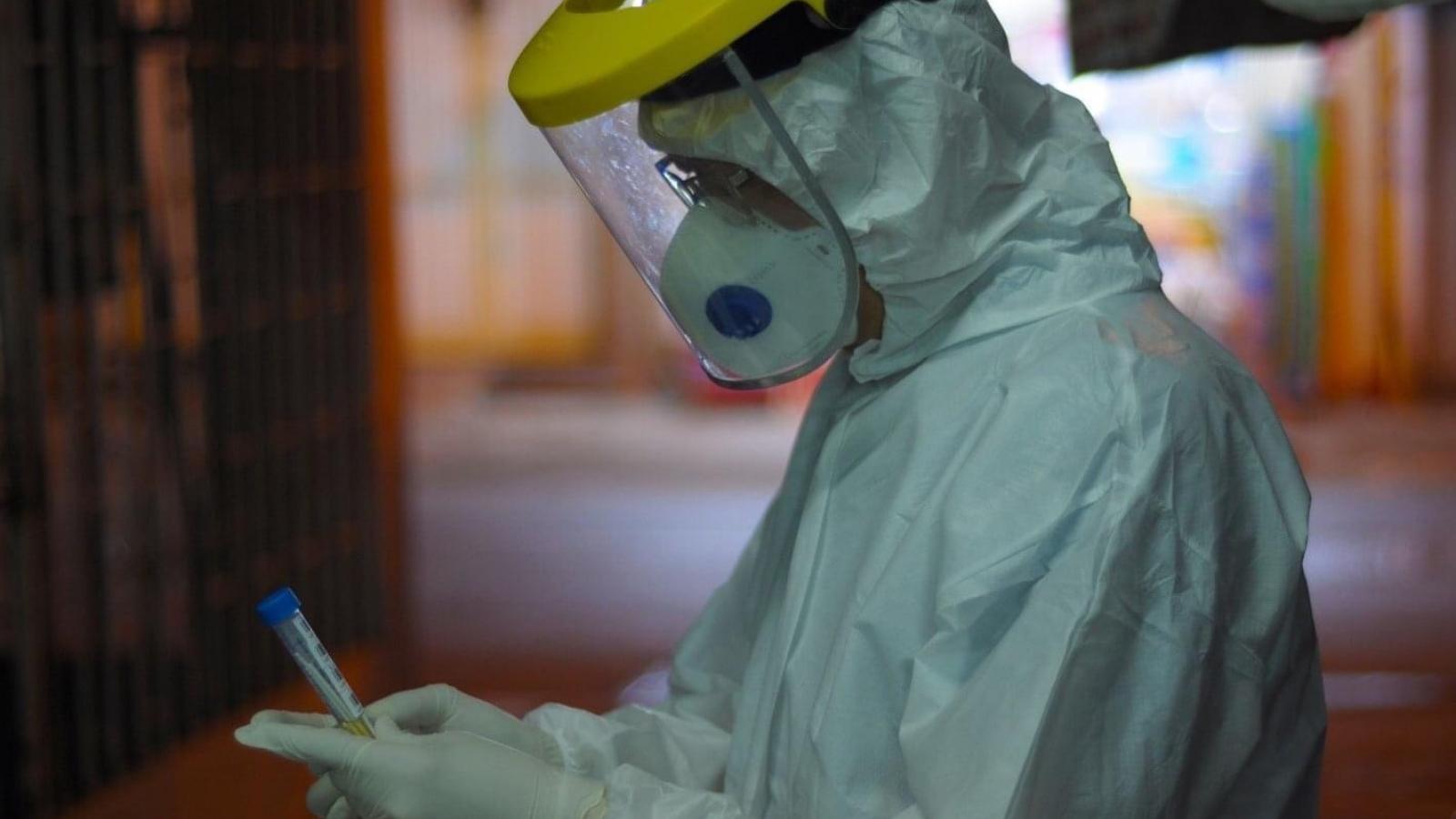 Gần 1000 nhânviênBệnh viện Mắt TPHCM được xét nghiệm Covid-19