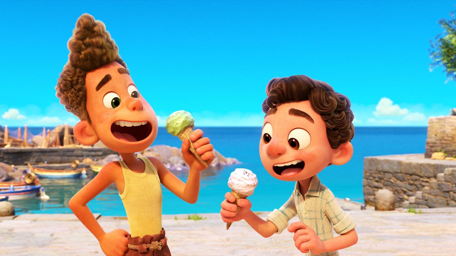 """""""Mùa hè của Luca""""- phim hoạt hình được chờ đợi nhất mùa hè 2021"""
