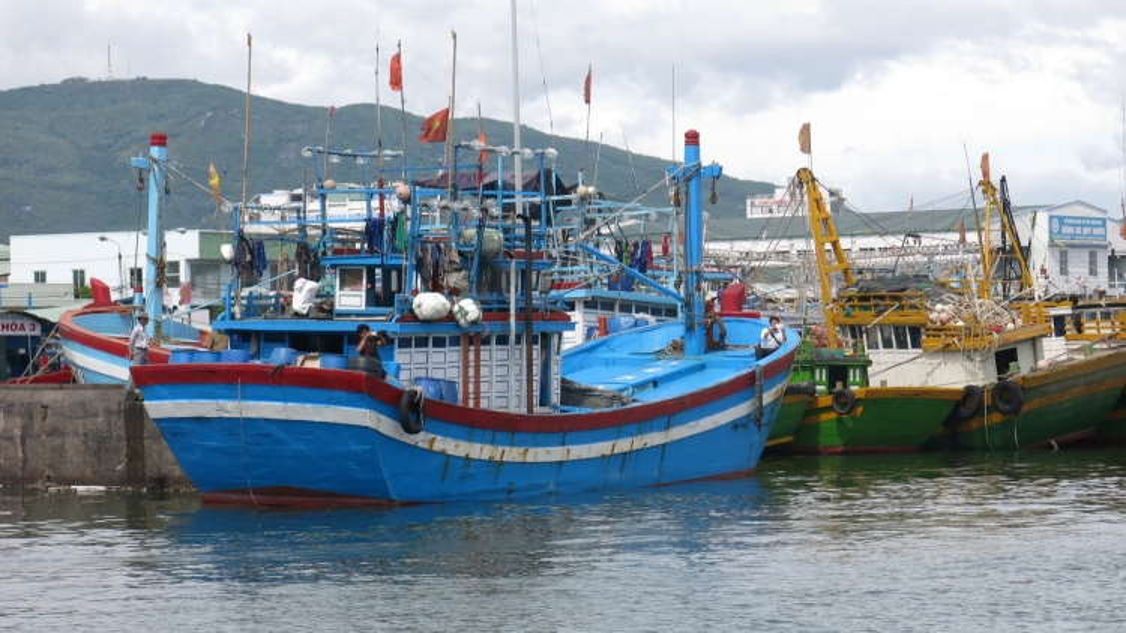 1 ngư dân tỉnh Bình Định mất tích trên biển