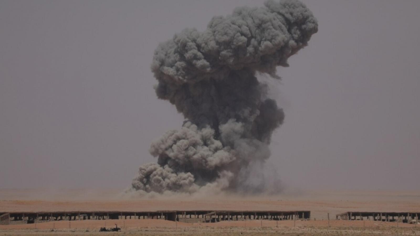 Mỹ không kích mục tiêu dân quân do Iran hậu thuẫn ở Syria