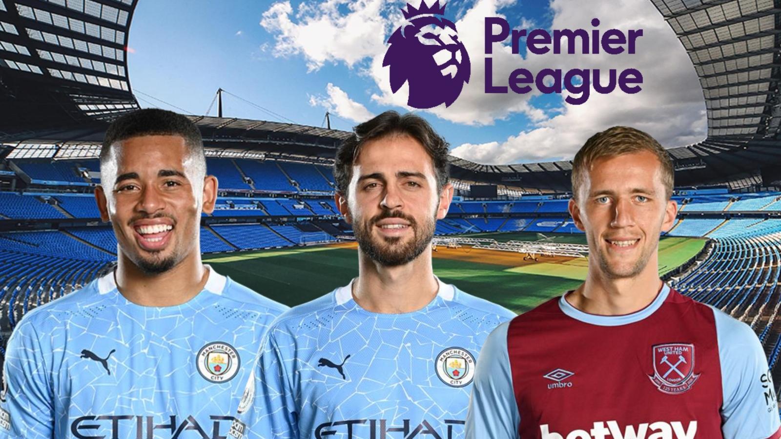 Dự đoán kết quả, đội hình xuất phát trận Man City - West Ham