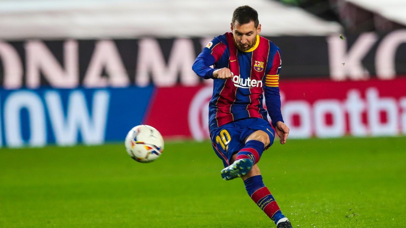 """Messi và Griezmann tỏa sáng, Barca """"đòi nợ"""" trước Athletic Bilbao"""