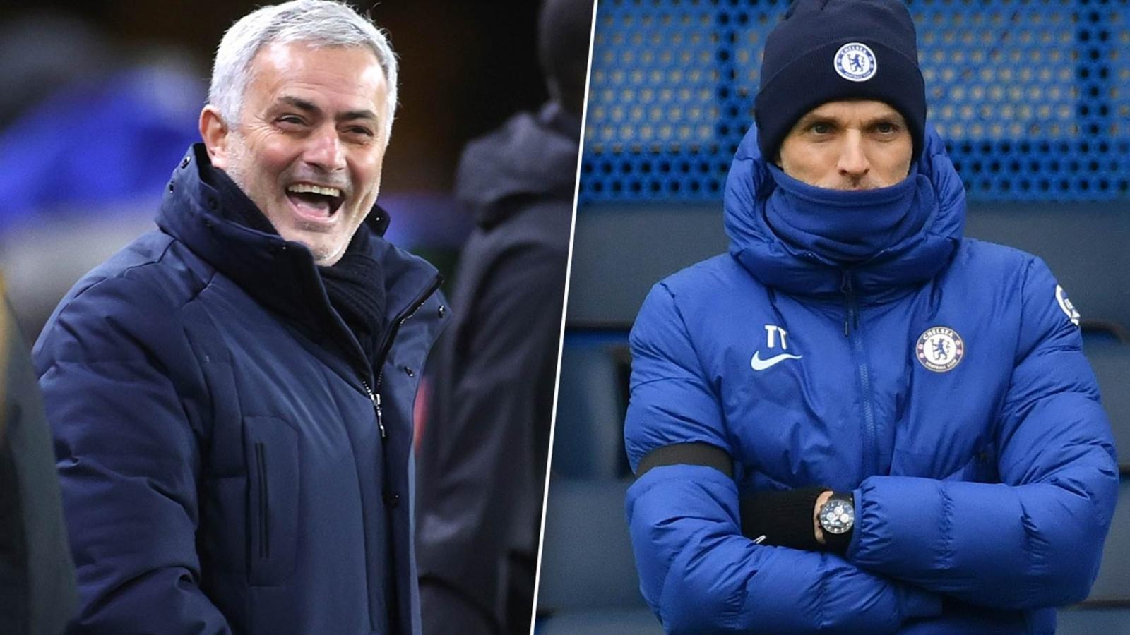"""Jose Mourinho """"cà khịa"""" Thomas Tuchel không thương tiếc"""