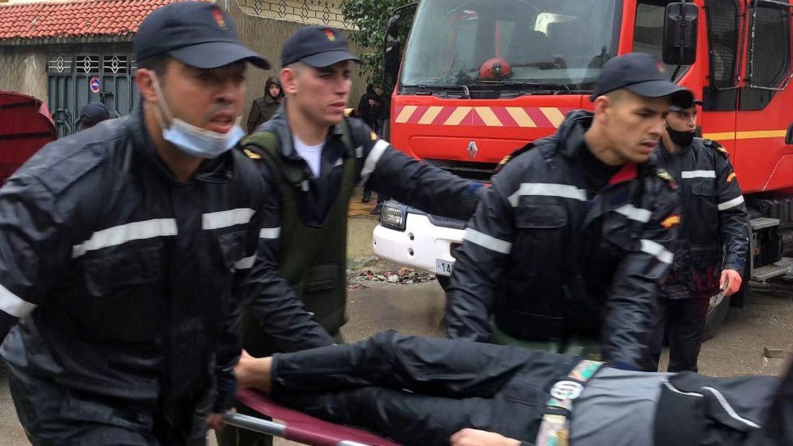 Ngập tại nhà máy may ngầm bất hợp pháp tại Ma Rốc làm 28 người thiệt mạng