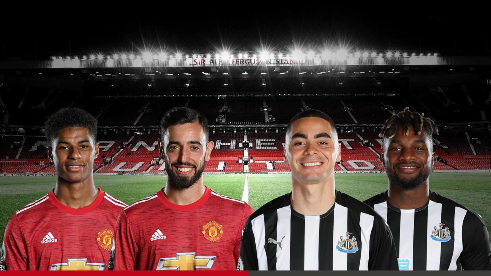 Dự đoán tỷ số, đội hình xuất phát trận MU - Newcastle