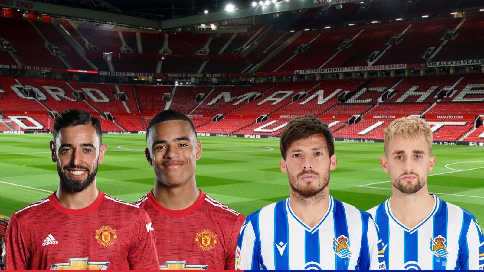 Dự đoán tỷ số, đội hình xuất phát trận MU - Sociedad
