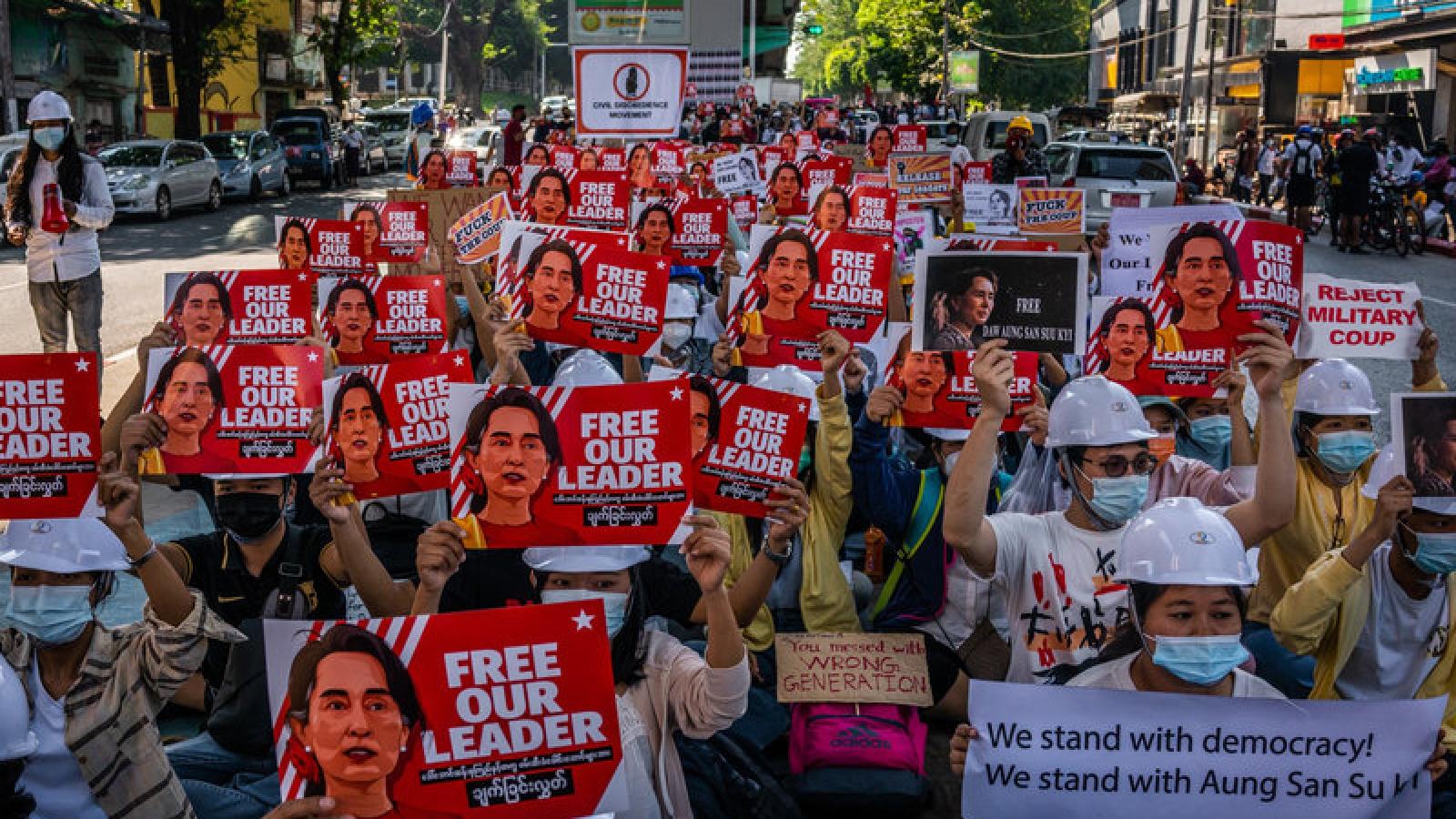Mỹ trừng phạt giới chức quân sự Myanmar liên quan tới cuộc đảo chính hồi đầu tháng
