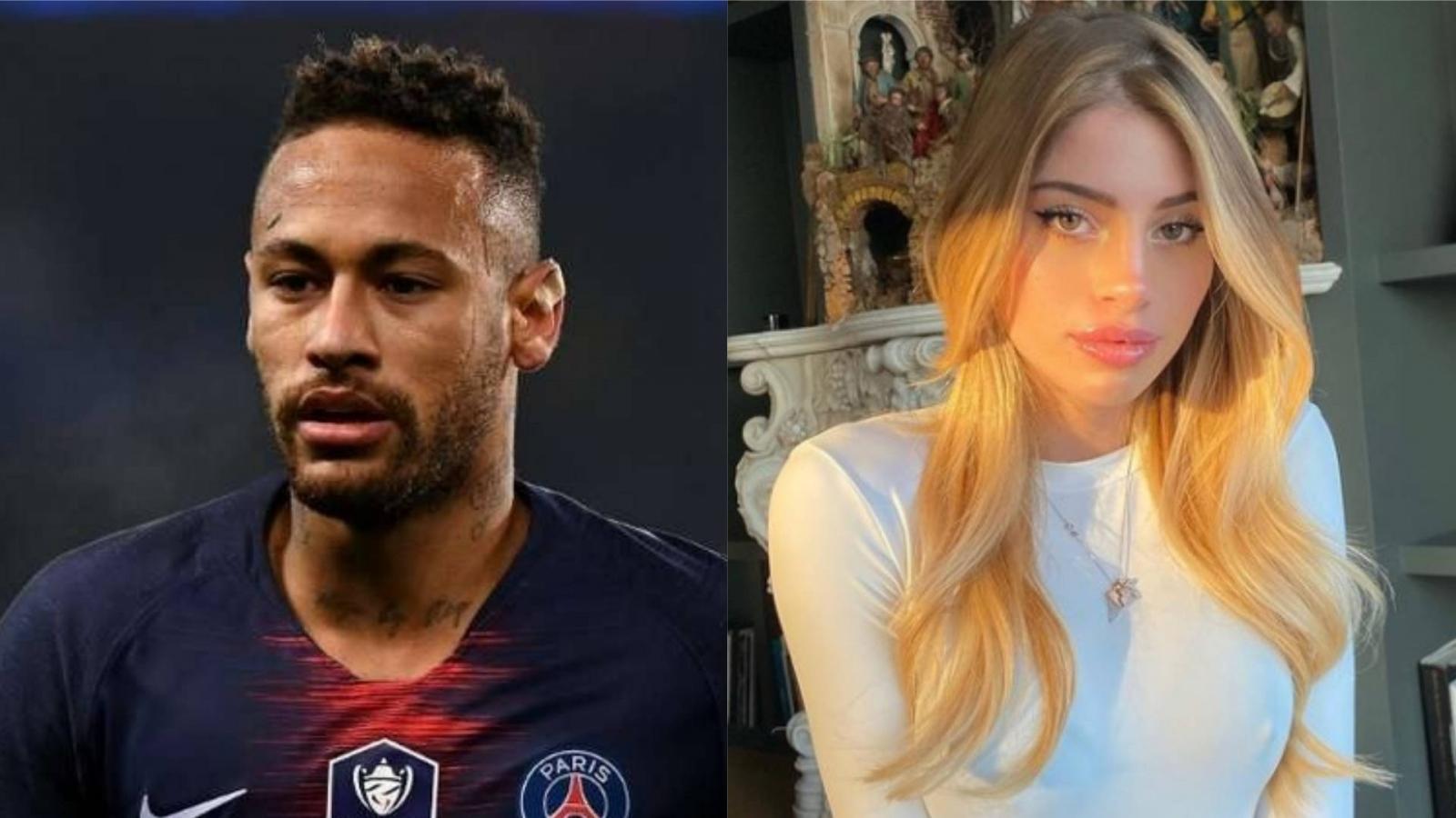 """Neymar dính scandal """"thả thính"""" bạn gái của đồng nghiệp"""