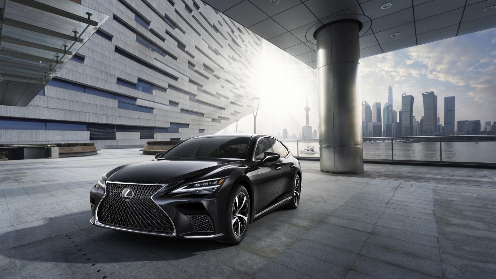 Lexus LS 2021 giá từ hơn 7 tỷ đồng có gì đặc biệt
