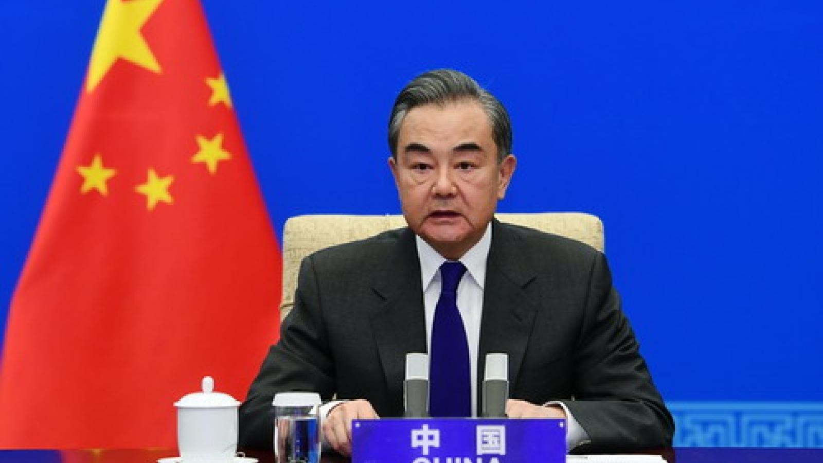 Ngoại trưởng Trung Quốc đưa ra 4 kiến nghị cải thiện quan hệ Trung-Mỹ