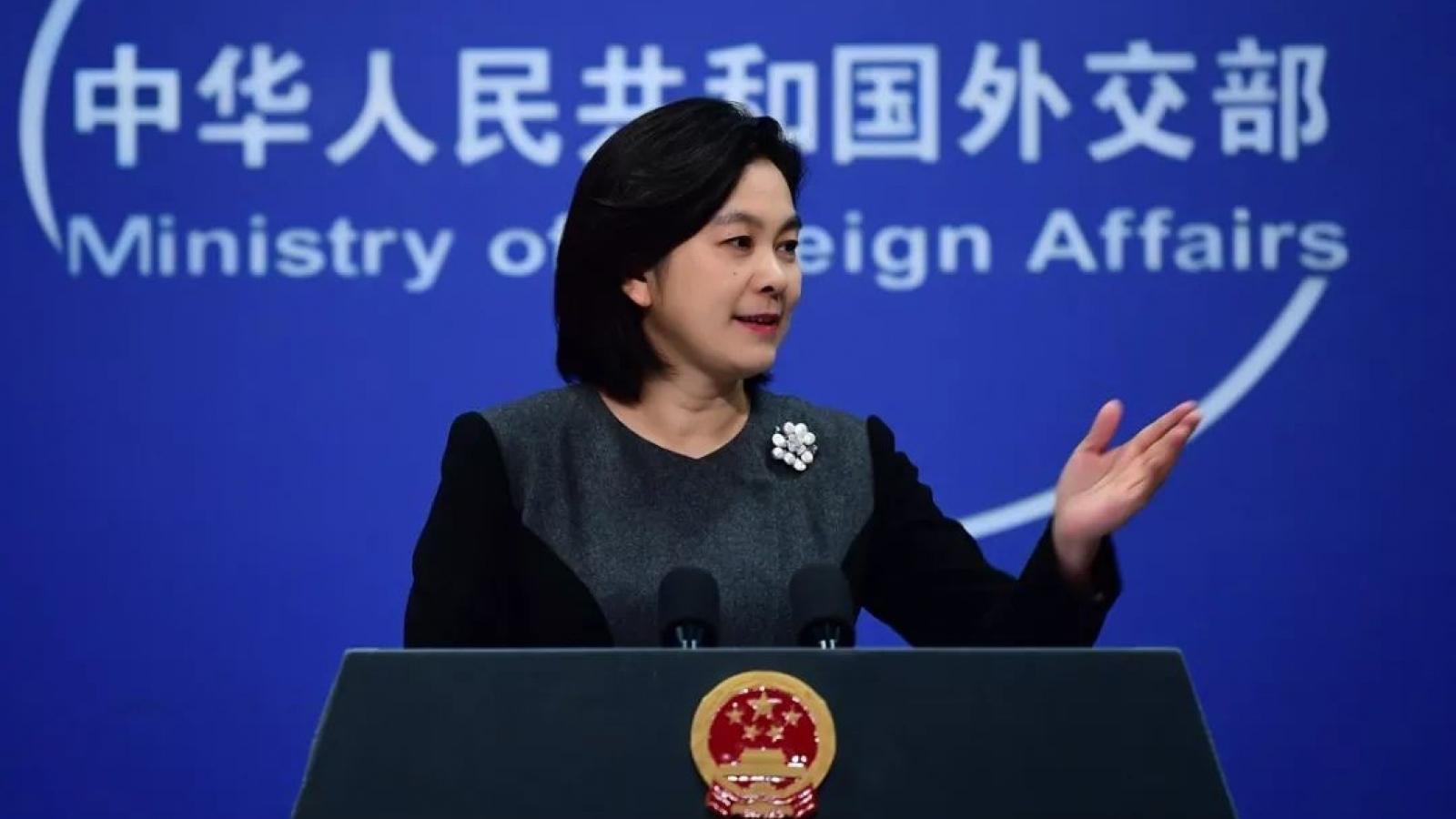 Trung Quốc hối thúc Mỹ quay trở lại thỏa thuận hạt nhân Iran