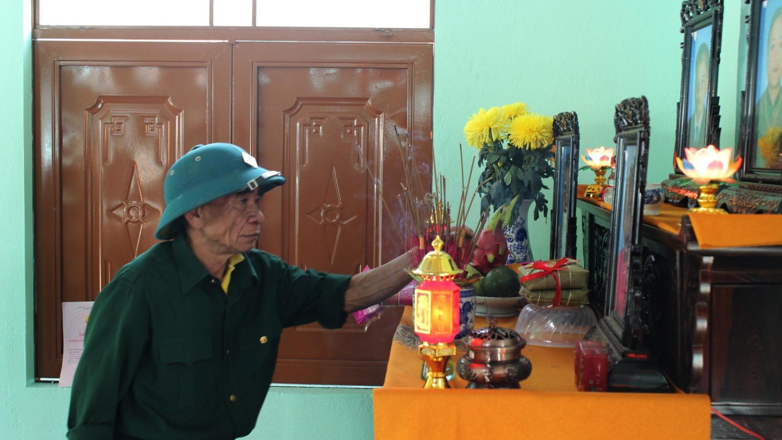 Người dân vùng sạt lở ở Trà Leng về nhà mới đón Tết