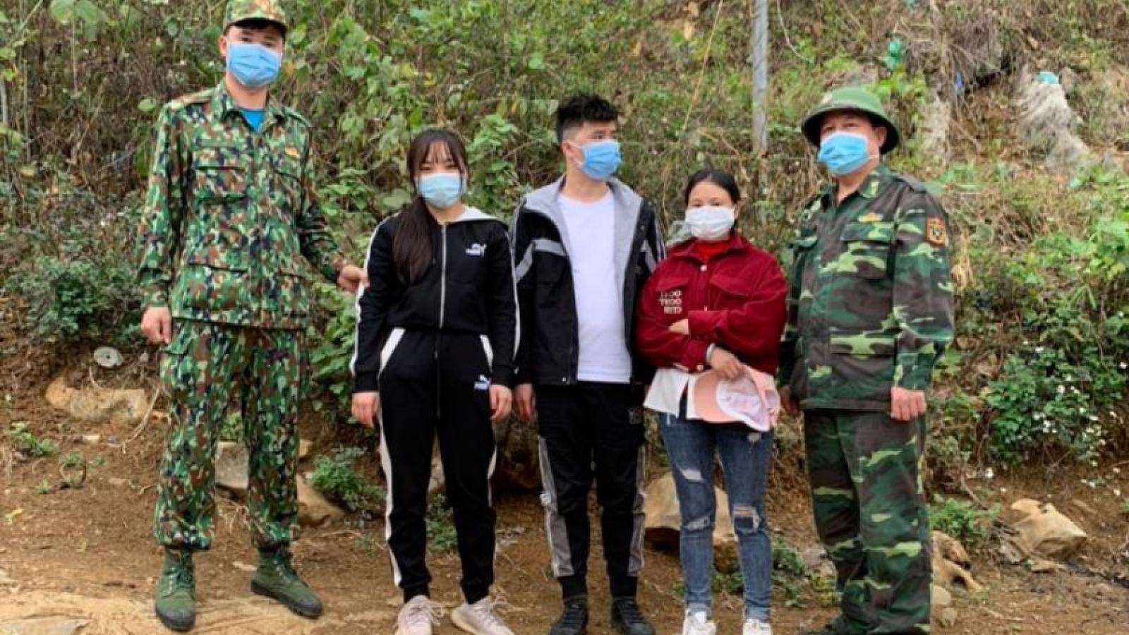 3 người Trung Quốc nhập cảnh trái phép vào Việt Nam