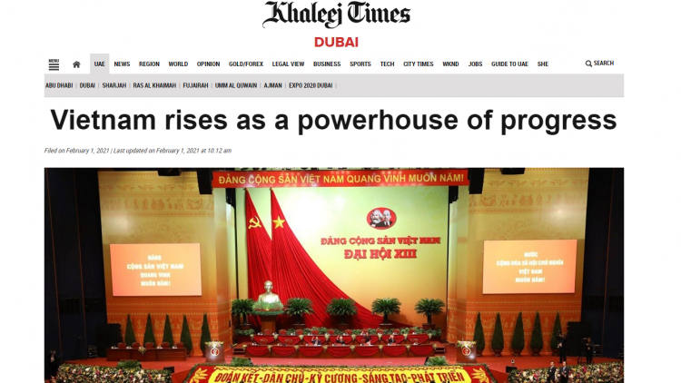 Vietnam emerges as a rising powerhouse in Asia: UAE paper