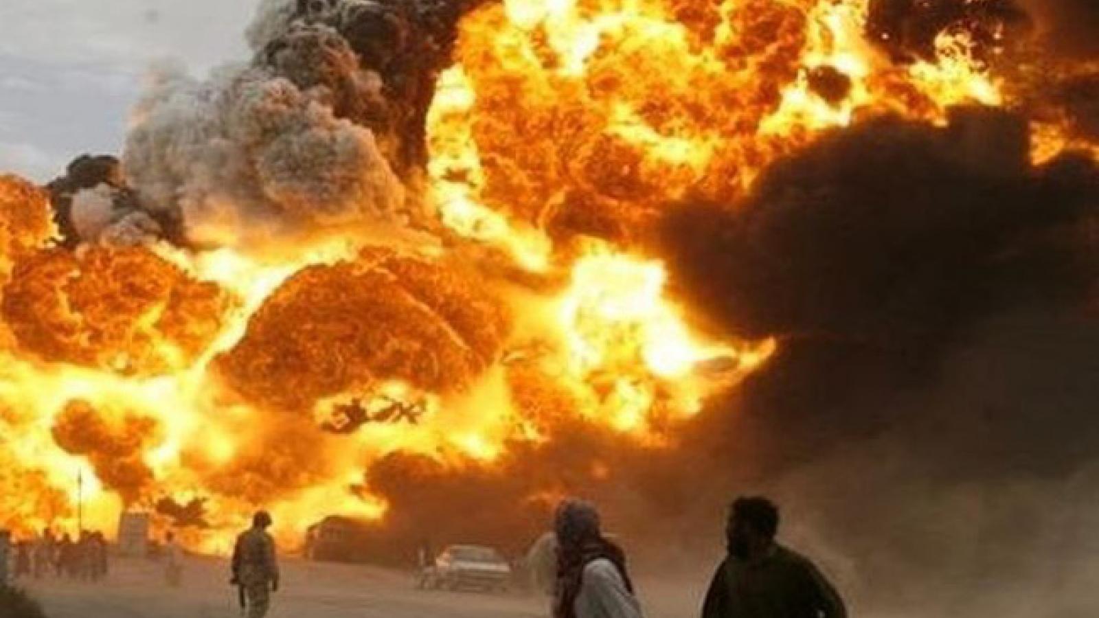 Nổ lớn ở trung tâm thủ đô Kabul, Afghanistan làm ít nhất 3 người thiệt mạng