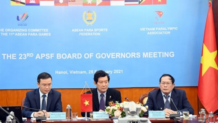 Vietnam to organise ASEAN Para Games 11 in December