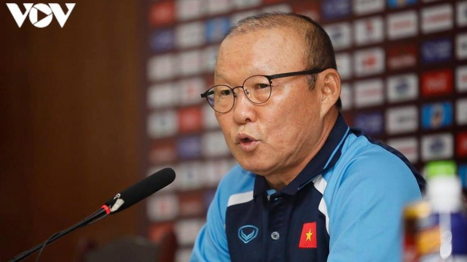 HLV Park Hang Seo lên tiếng về hợp đồng với VFF trên báo Hàn Quốc