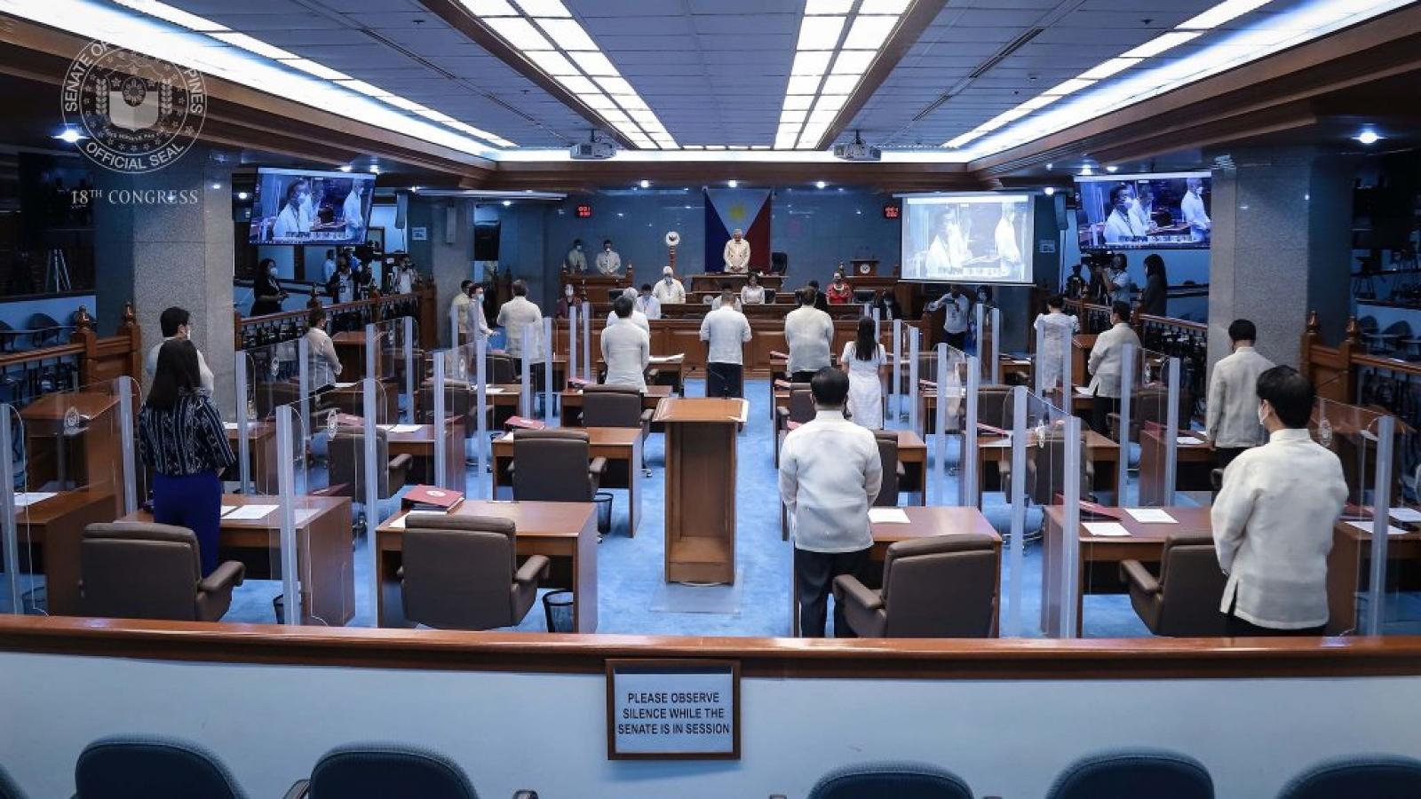Thượng viện Philippines bày tỏ quan ngại về Luật Hải cảnh Trung Quốc