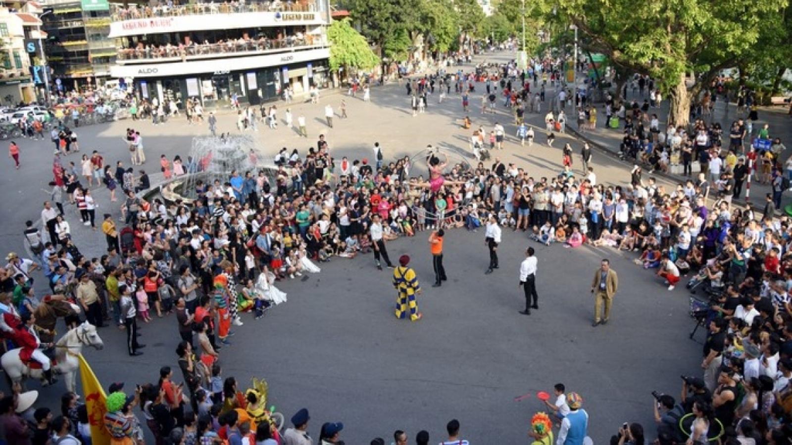 Đề xuất mở lại phố đi bộ Hồ Gươm, Hà Nội