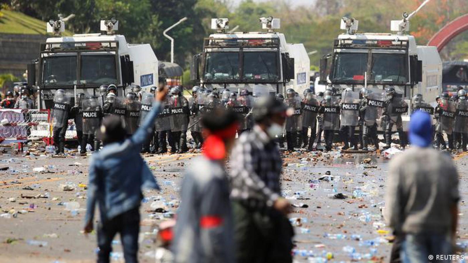 Quân đội Myanmar cam kết sớm tổ chức bầu cử và chuyển giao quyền lực