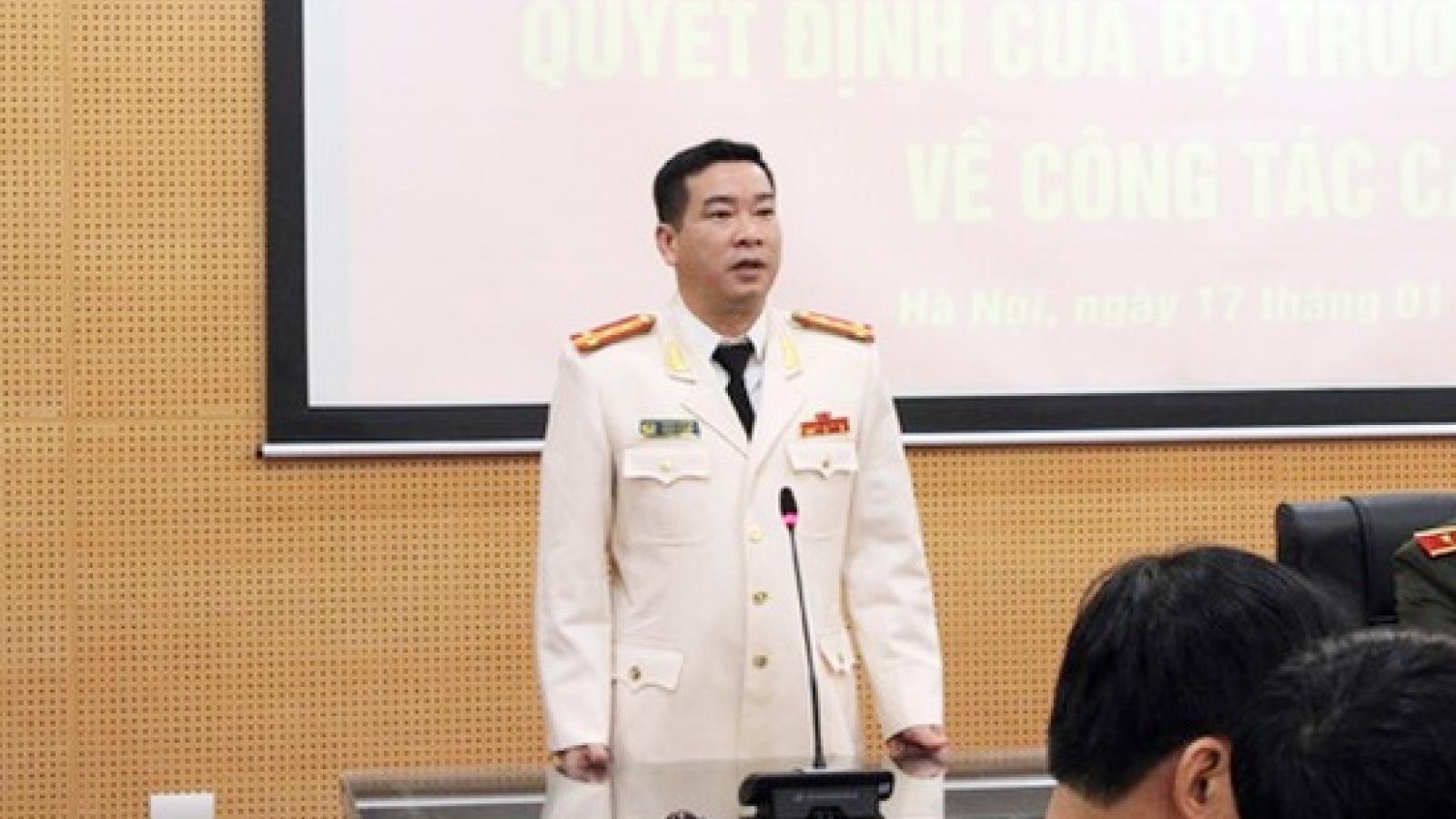 Đình chỉ công tác Trưởng Phòng Cảnh sát Kinh tế, Công an TP Hà Nội để điều tra