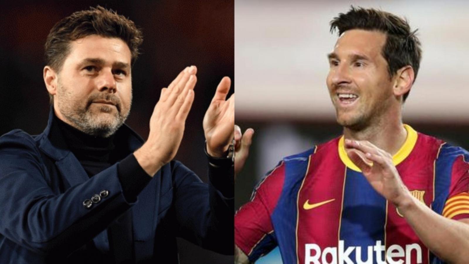 Pochettino háo hức làm thầy của Messi tại PSG