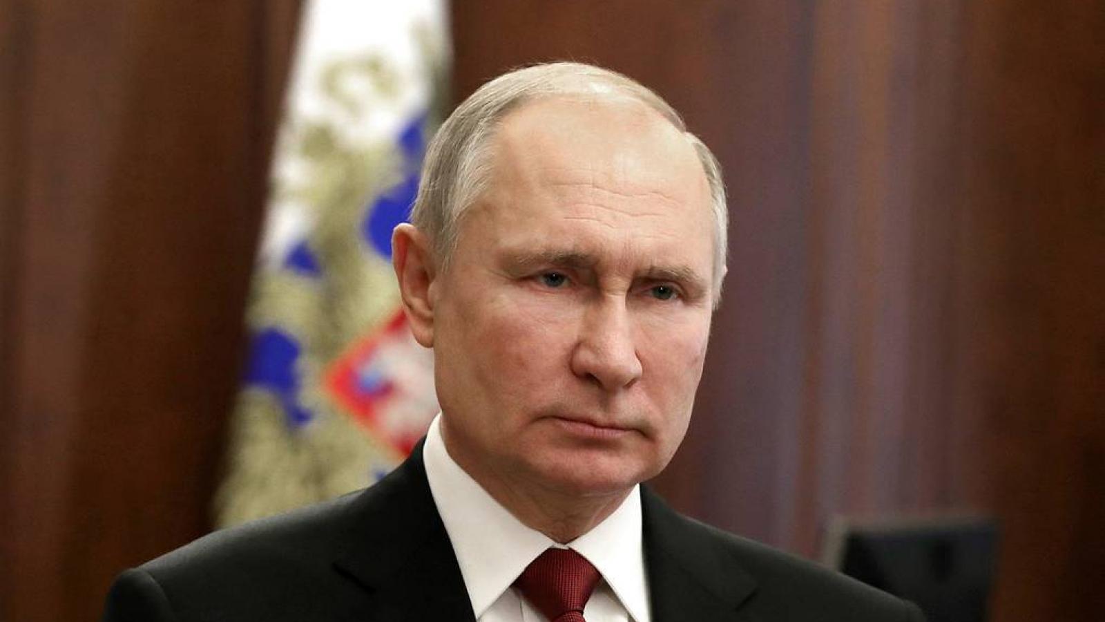 """Tổng thống Nga Putin sẽ đưa ra thông điệp của """"thời đại mới"""""""