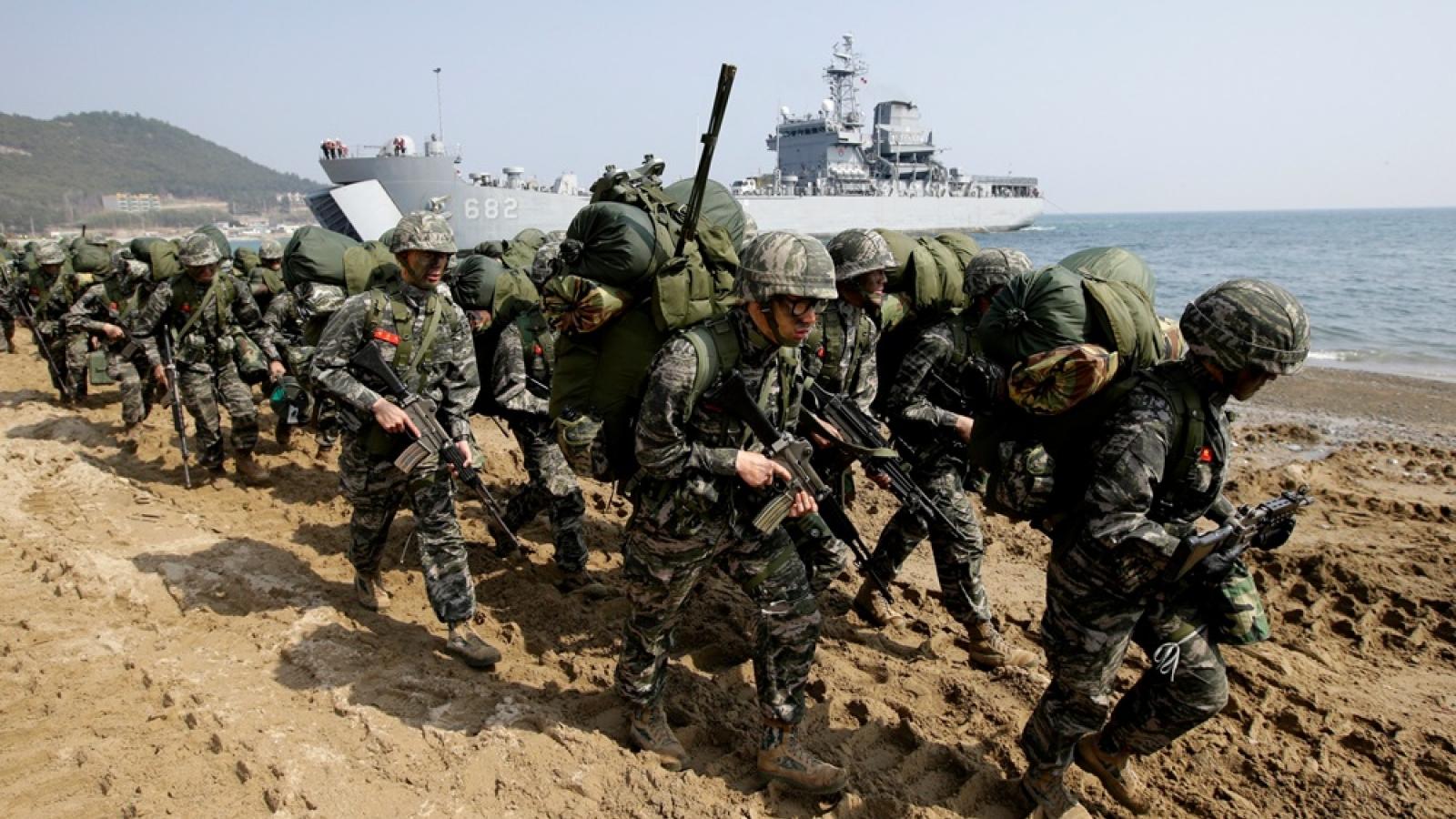 Hàn Quốc và Mỹ dự kiến tập trận sở chỉ huy liên quân vào tháng 3/2021