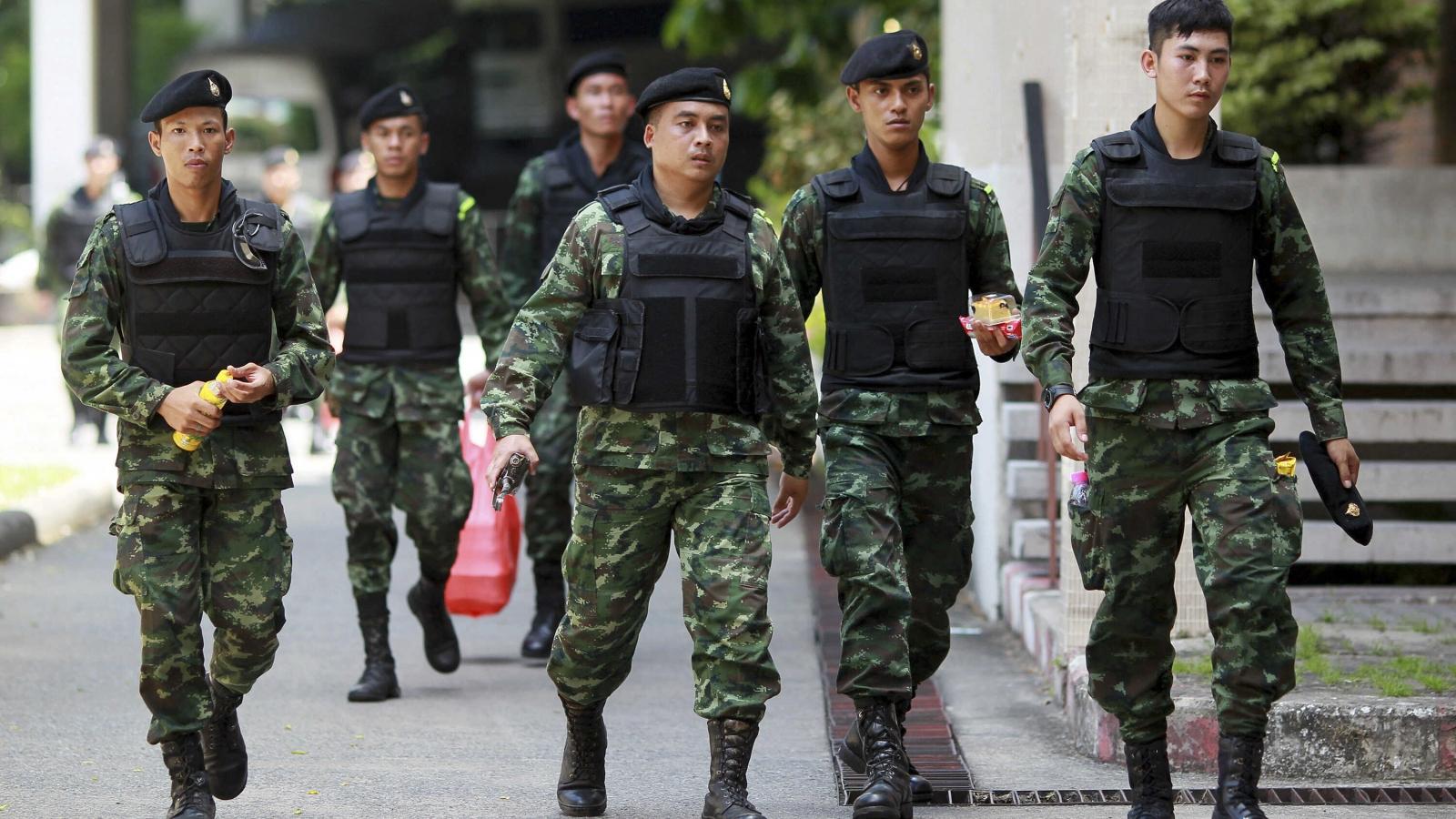 Quân đội Thái Lan xem xét cắt giảm số lượng tướng lĩnh