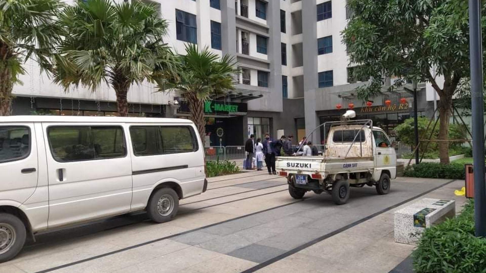 Phong tỏa một chung cư ở Hà Nội vì có người Hàn Quốc tử vong