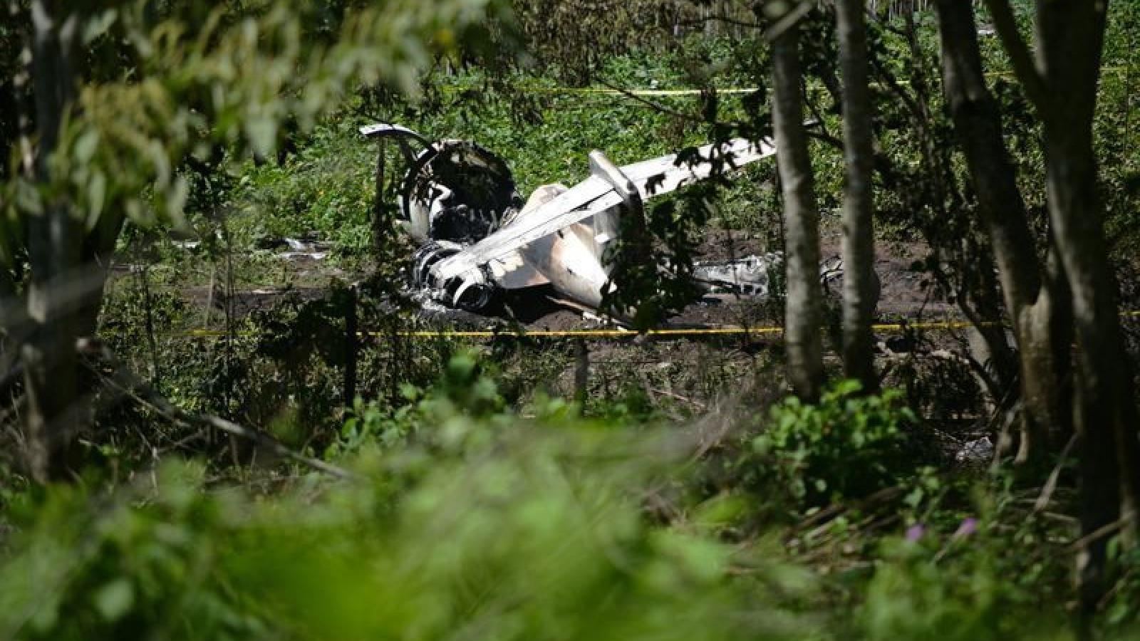 Tai nạn máy bay tại Mexico, 6 người thiệt mạng