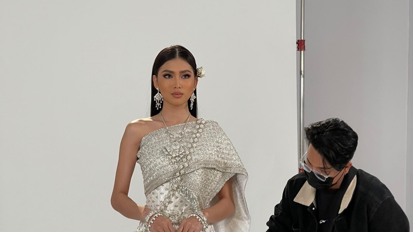 Á hậu Ngọc Thảo trổ tài nói tiếng Thái trước thềm tham dự Miss Grand International