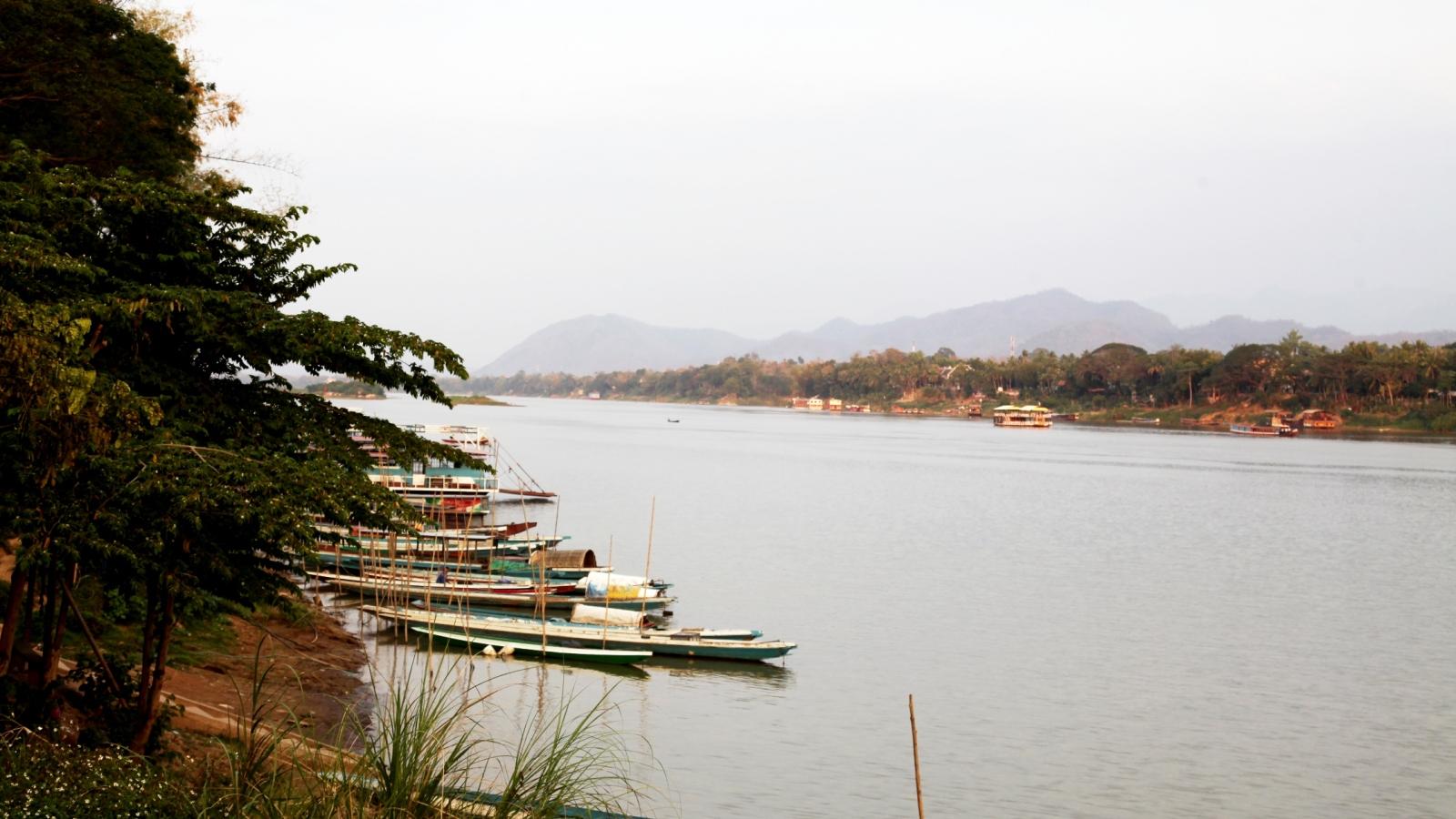 Mực nước sông Mekong tăng nhẹ