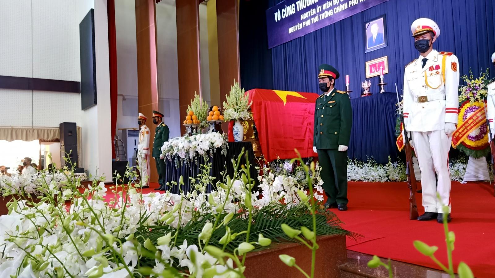 Hình ảnh: Lễ viếng nguyên Phó Thủ tướng Trương Vĩnh Trọng tại Bến Tre