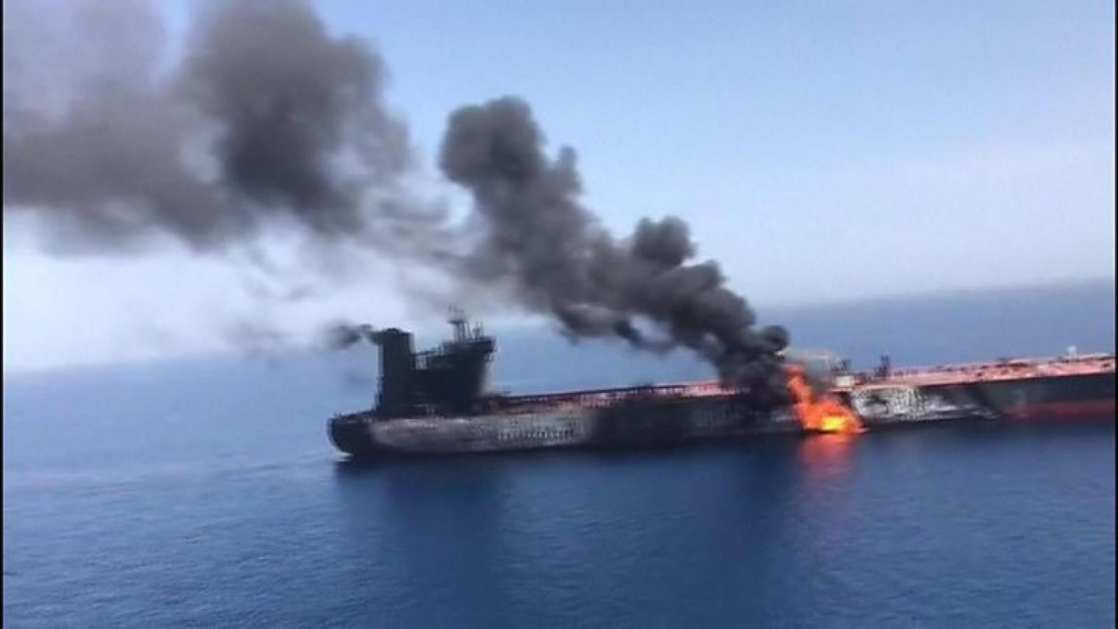 Căng thẳng mới tại vùng Vịnh: Israel nghi khả năng Iran tấn công tàu chở dầu