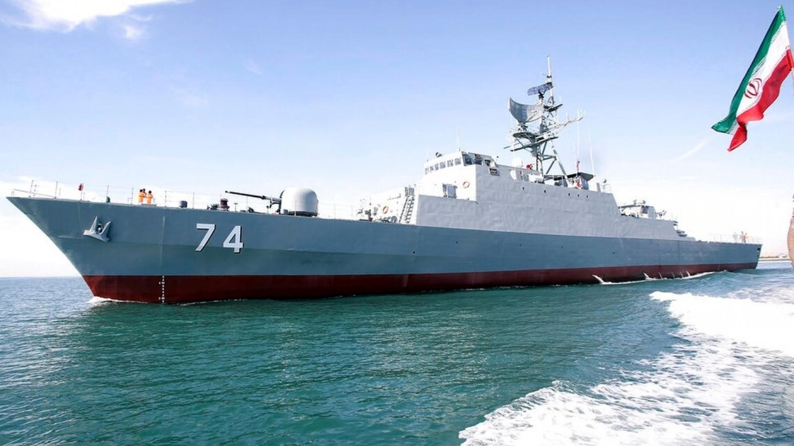 Nga và Iran tiến hành tập trận hải quân chung tại Ấn Độ Dương