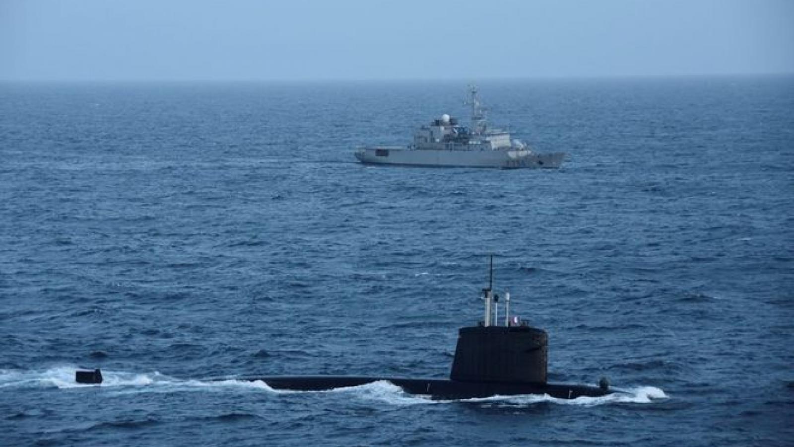 Phản ứng của Việt Nam về thông tin tàu ngầm Pháp tuần tra ở Biển Đông