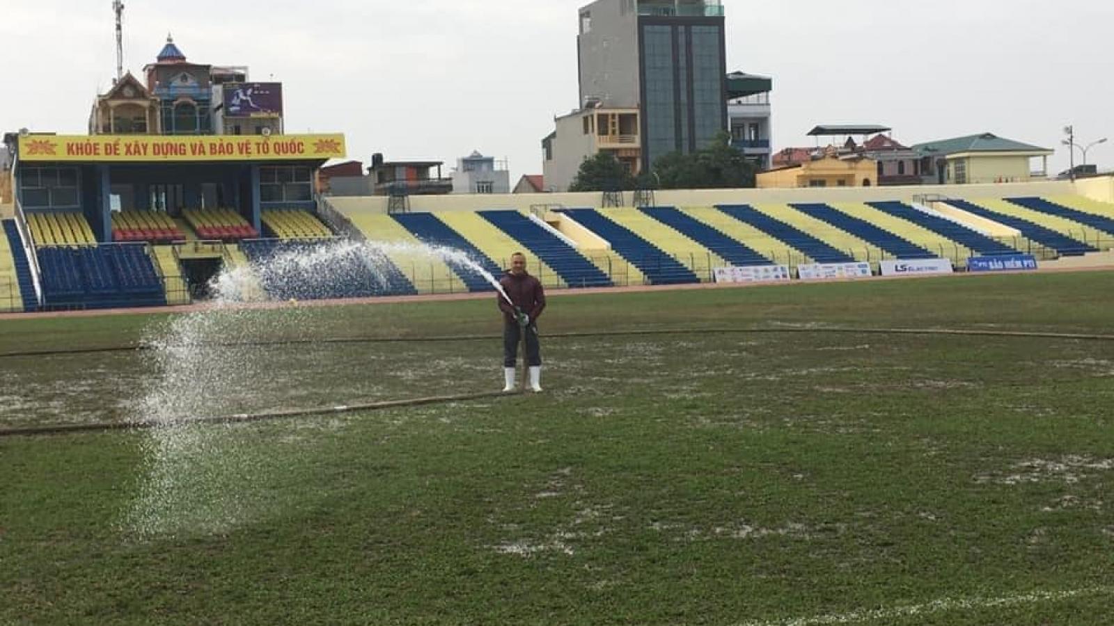 Thanh Hóa tu sửa sân ở thời điểm V-League 2021 tạm hoãn