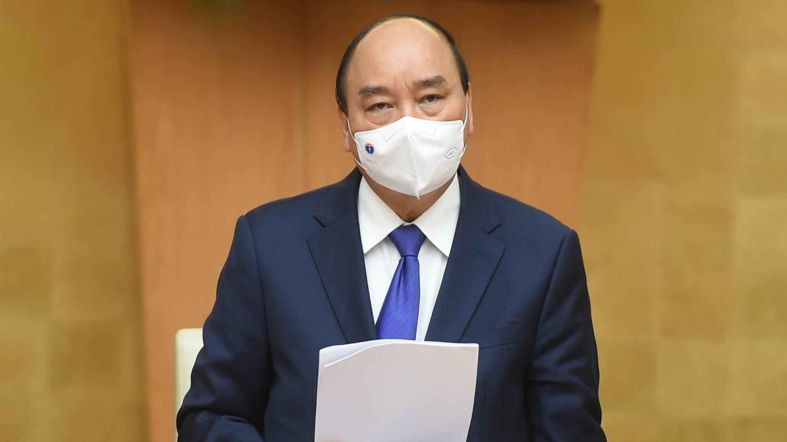 Thủ tướng yêu cầu nỗ lực để có vaccine Covid-19 ngay trong tháng 2
