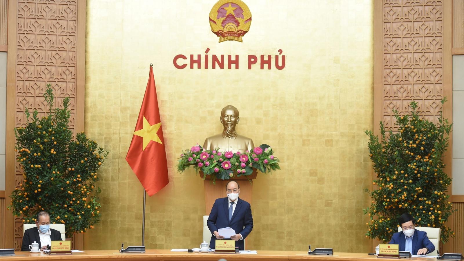 """Thủ tướng nêu 5 cân đối lớn tựu chung của """"ý Đảng, lòng Dân"""""""