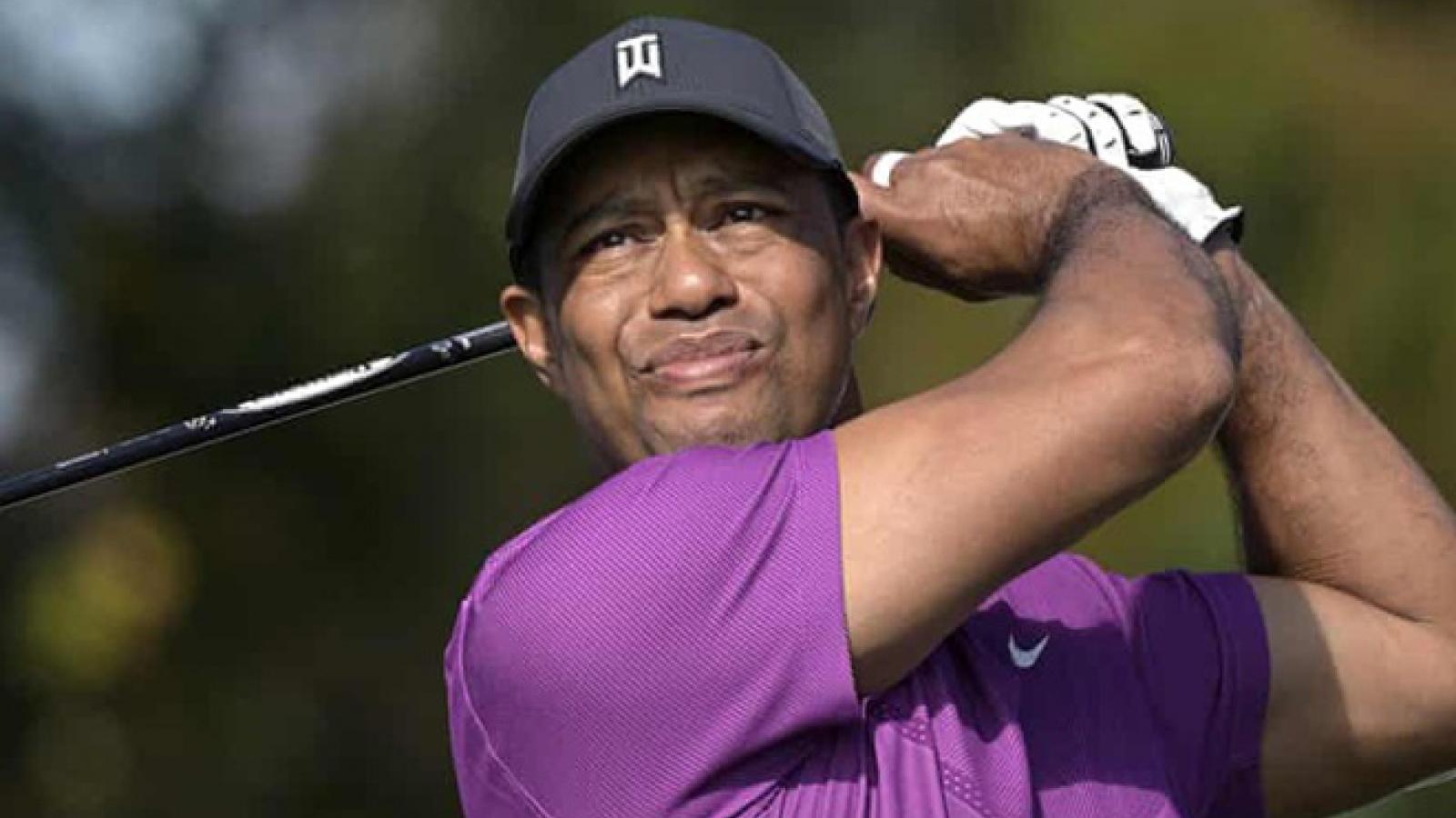 Ổn định tâm lý sau tai nạn kinh hoàng, Tiger Woods quyết tâm trở lại với golf đỉnh cao