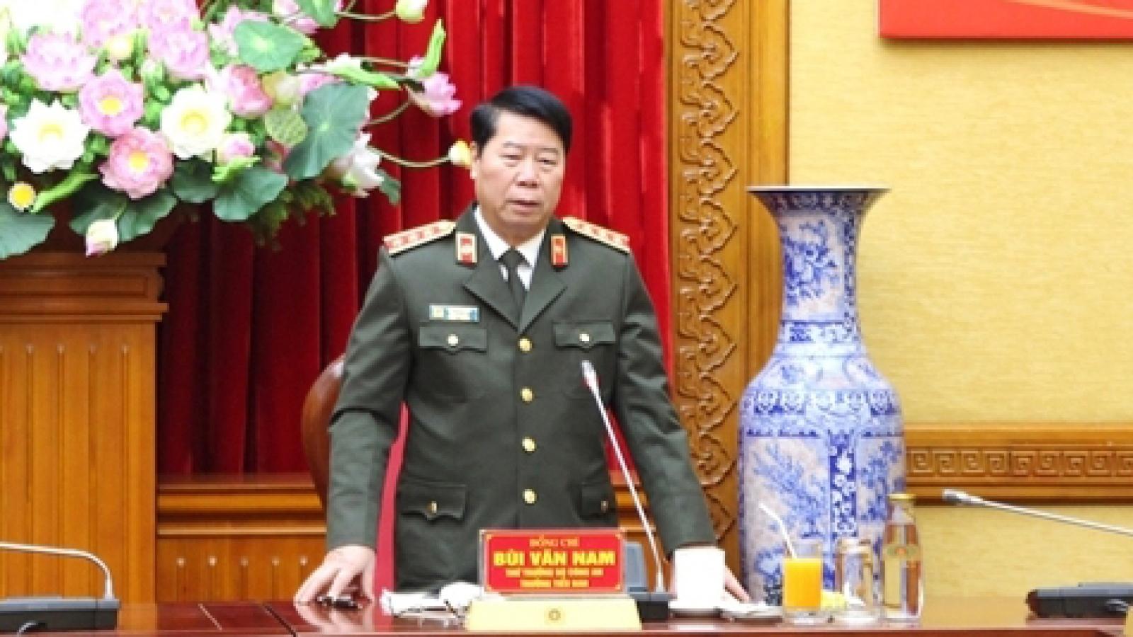 Lực lượng công an bảo vệ tuyệt đối an toàn Đại hội XIII của Đảng
