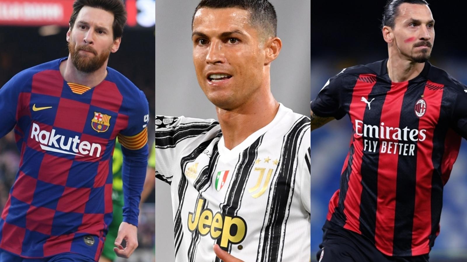 Top 10 chân sút vĩ đại nhất lịch sử Champions League: Ronaldo không có đối thủ