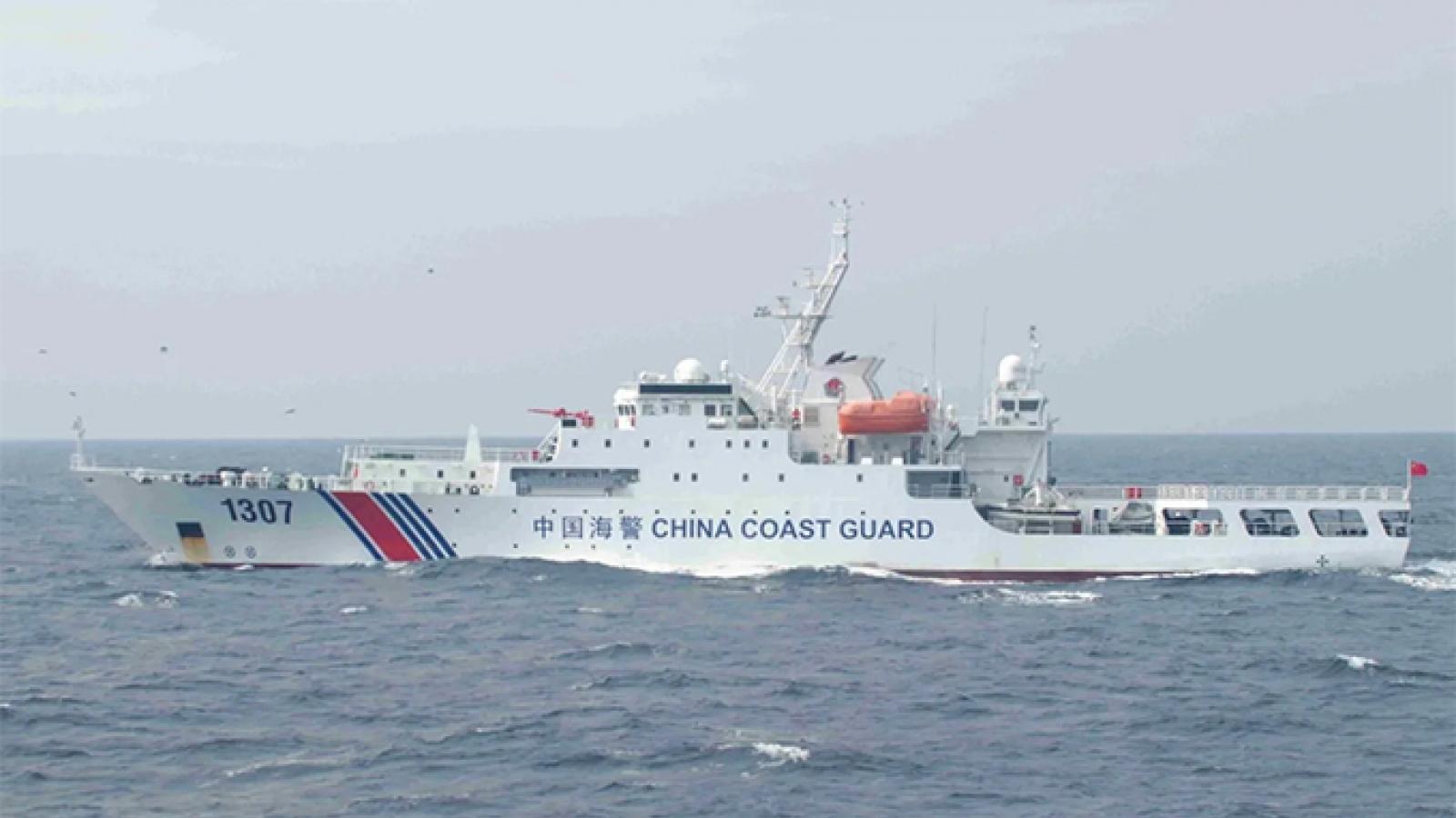 Luật Hải cảnh của Trung Quốc có hiệu lực, nhiều nước phản đối mạnh mẽ