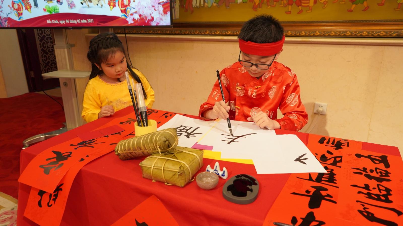 Đại sứ quán Việt Nam tại Bắc Kinh tổ chức Tết cho người Việt xa quê
