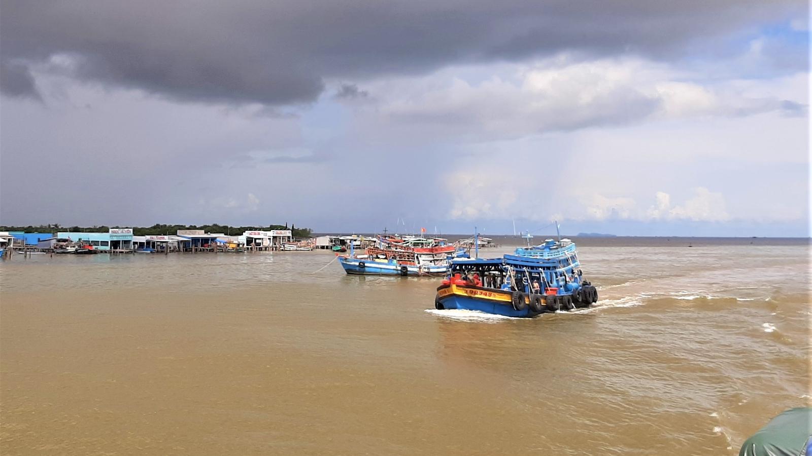 Cà Mau lại phát hiện hàng chục người nhập cảnh trái phép đường biển