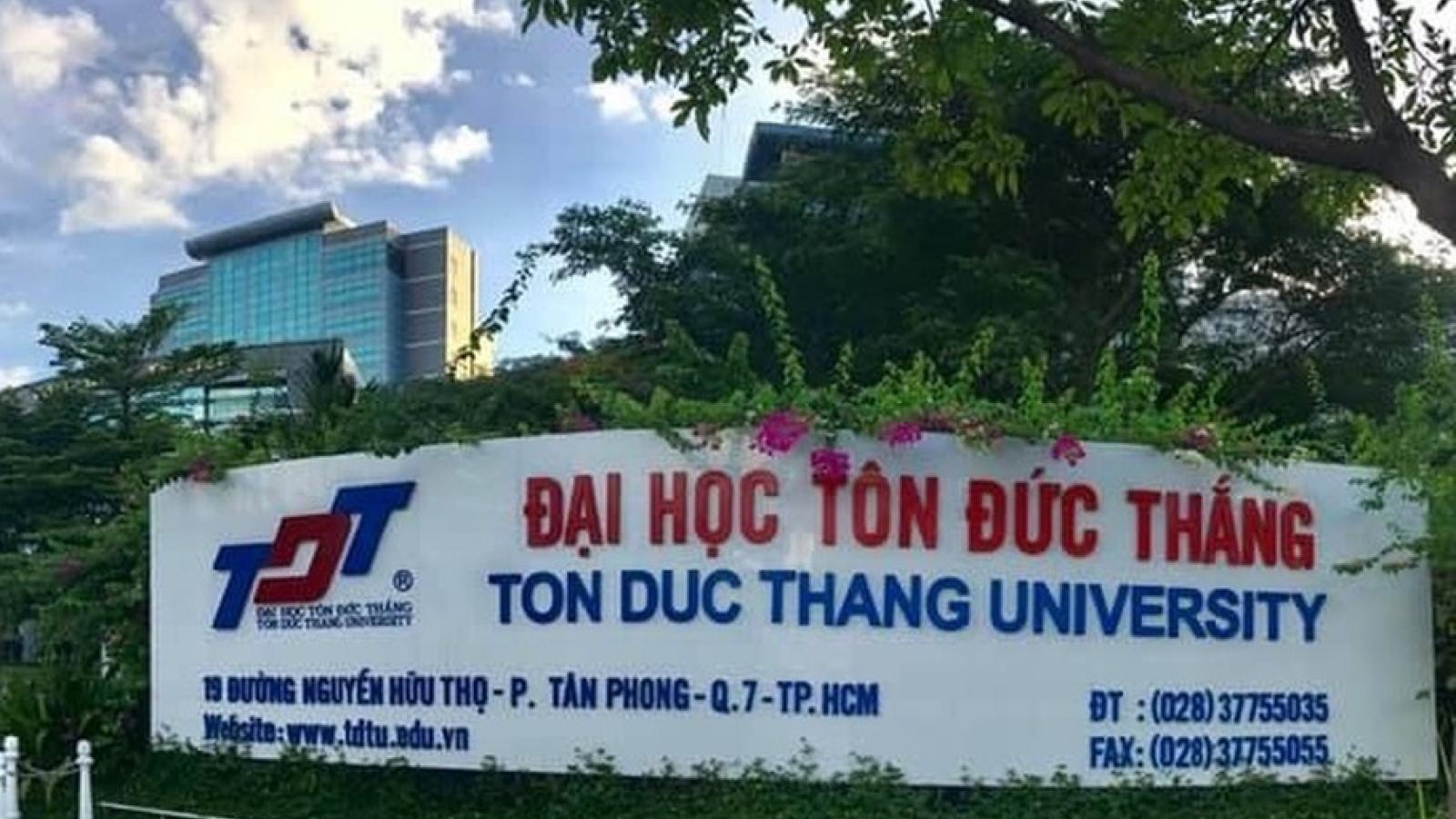 Sẽ công khai báo cáo hoạt động của Trường Đại học Tôn Đức Thắng